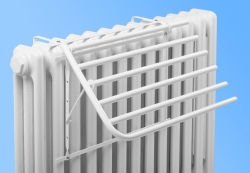 Five-arm dryer for cast iron radiator